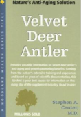 Nature's anti aging solution  and Deer antler book