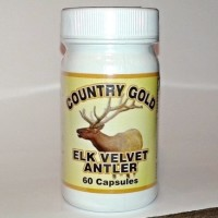 Country Gold Elk Velvet Antler